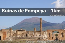 Excavaciones de Pompeya - 1 km