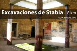 Excavaciones de Stabia - 8 km