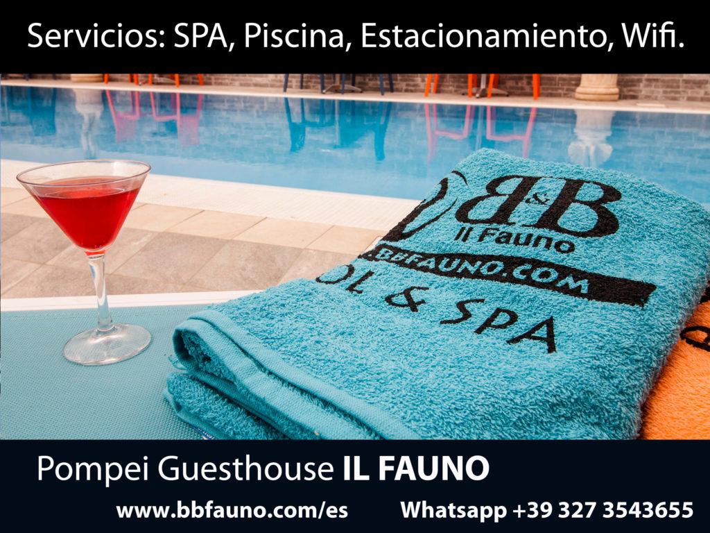 Servicios Hotel Pompei Fauno