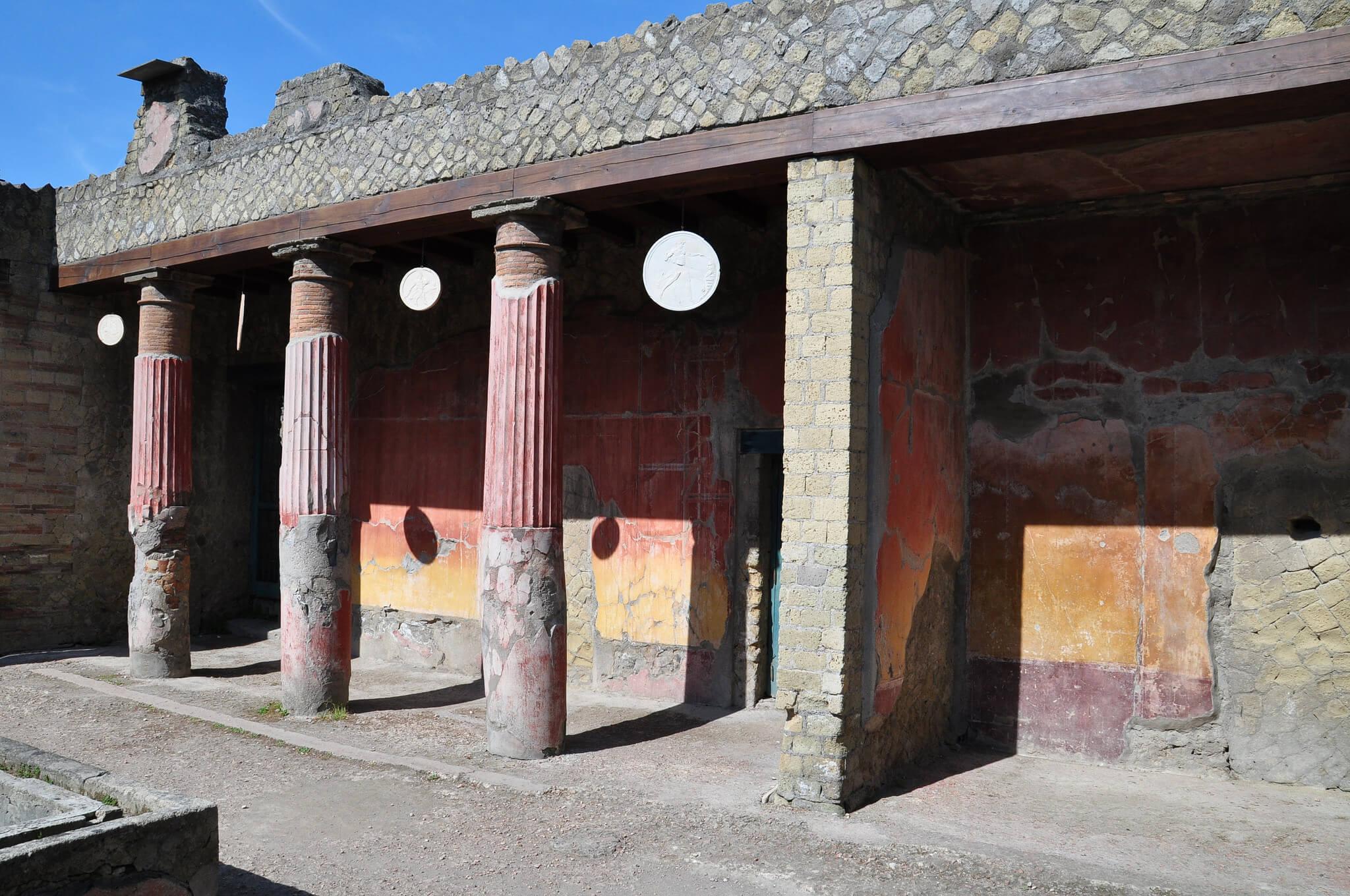 Les fouilles de Herculanum