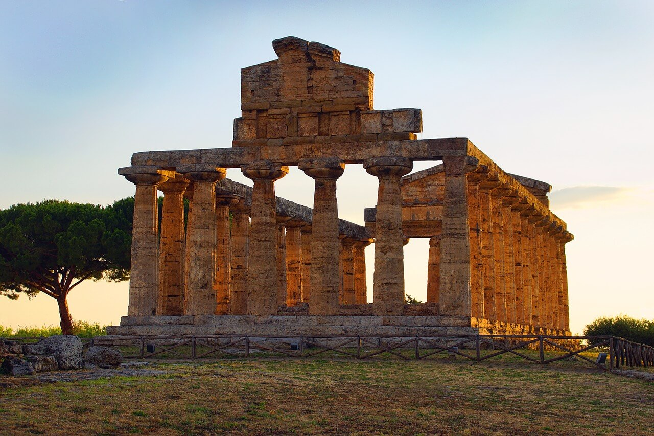 Zone archeologique de Paestum
