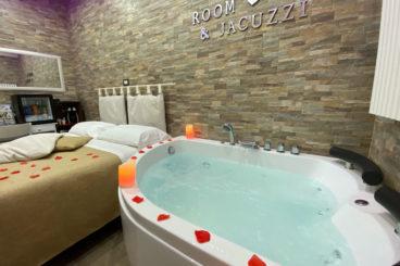 Chambre double avec bain à remous