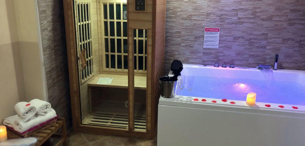 Suite Pompéi avec Spa Maxi et sauna