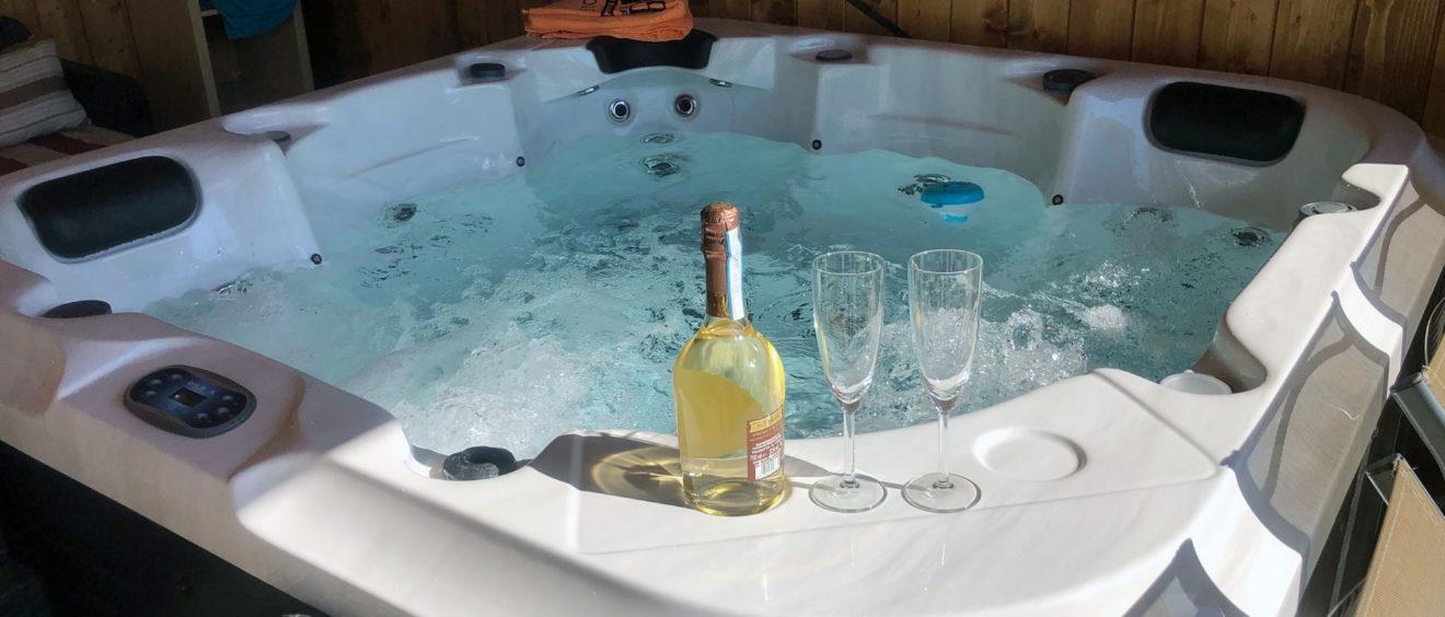 Spa mini piscine jacuzzi Pompei