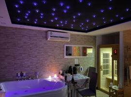 Suite Pompei Spa de luxe avec bain à remous et sauna