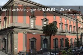 Musée archéologique de Naples - 25 km