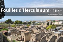 Fouilles d'Herculanum - 16 Km