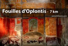 Fouilles d'Oplonti - 7 km