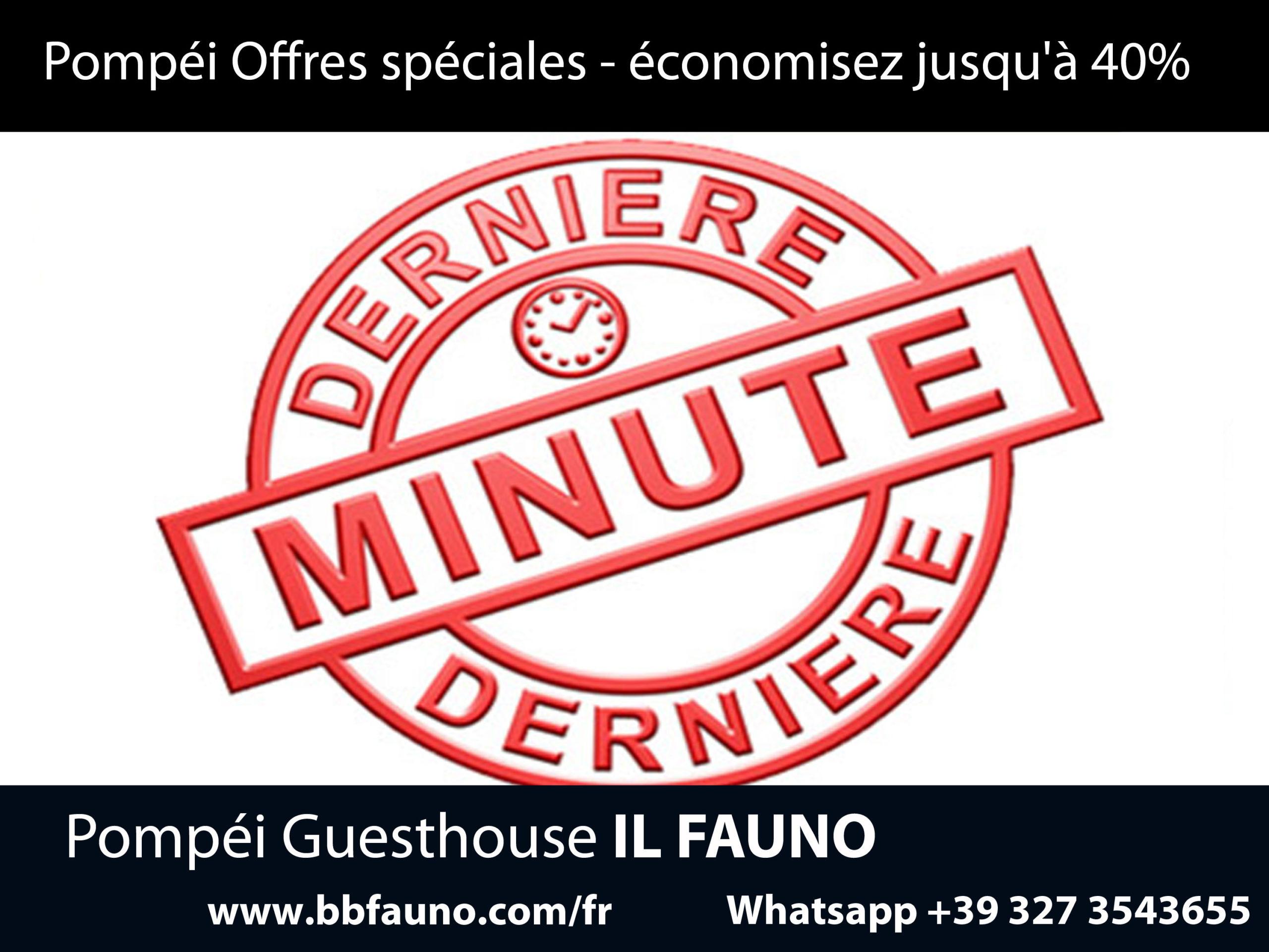 Offres et derniere minute Pompei