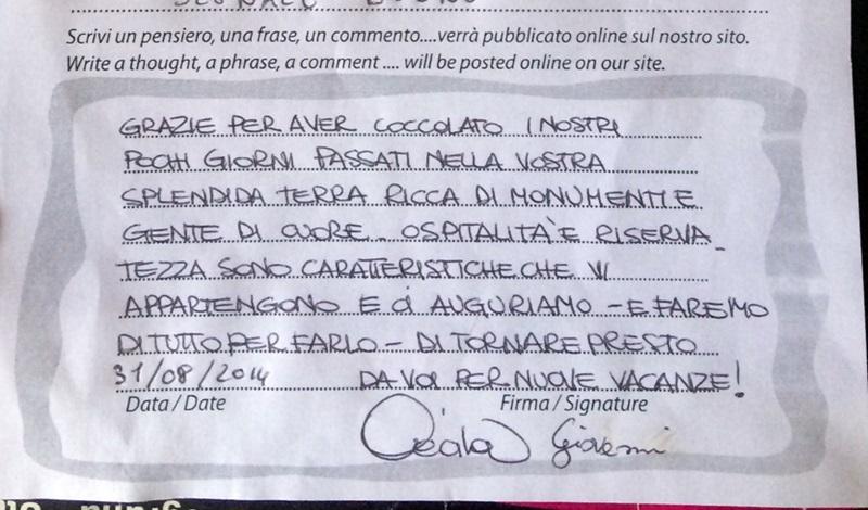 2014.Agosto.Rebagliati.Cecilia-Palmato.Giovanni-Camera