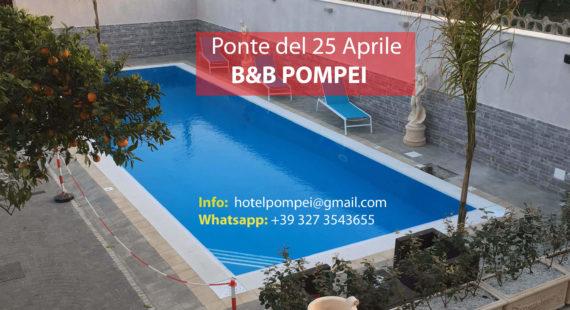 Offerta Ponte 25 Aprile Pompei