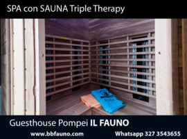 Hotel sauna pompei