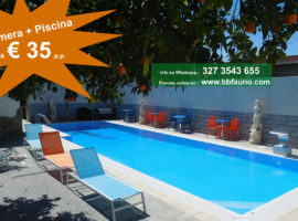 Camere piscina Pompei