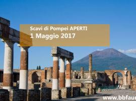 Scavi Pompei aperti 1 maggio