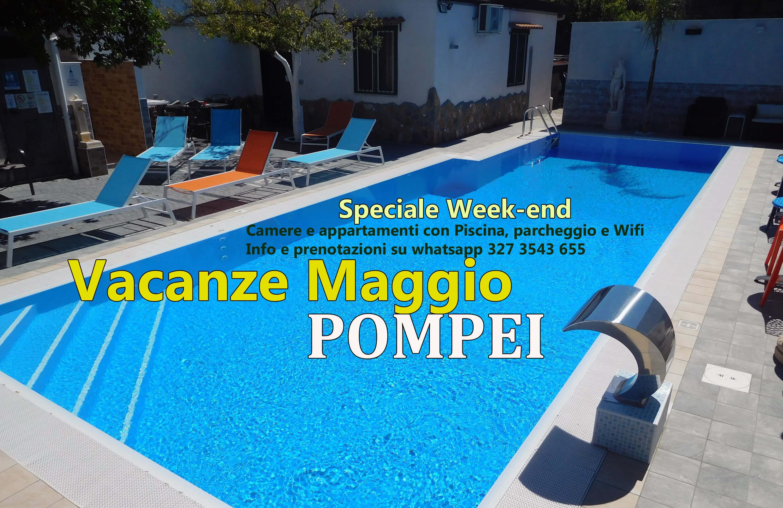 Vacanza Maggio Pompei