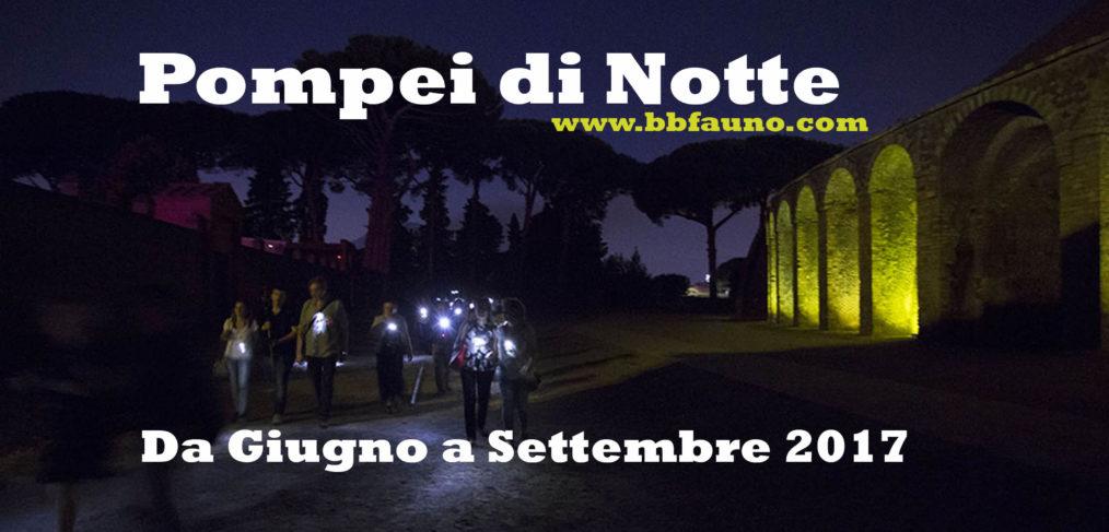 Pompei di notte