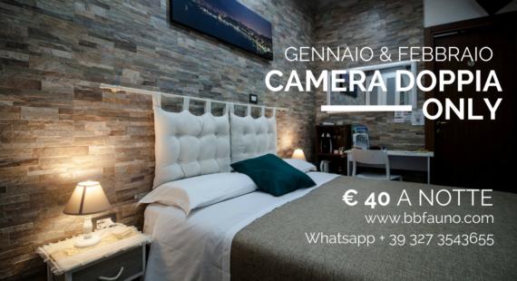 Camera matrimoniale Pompei 40 euro