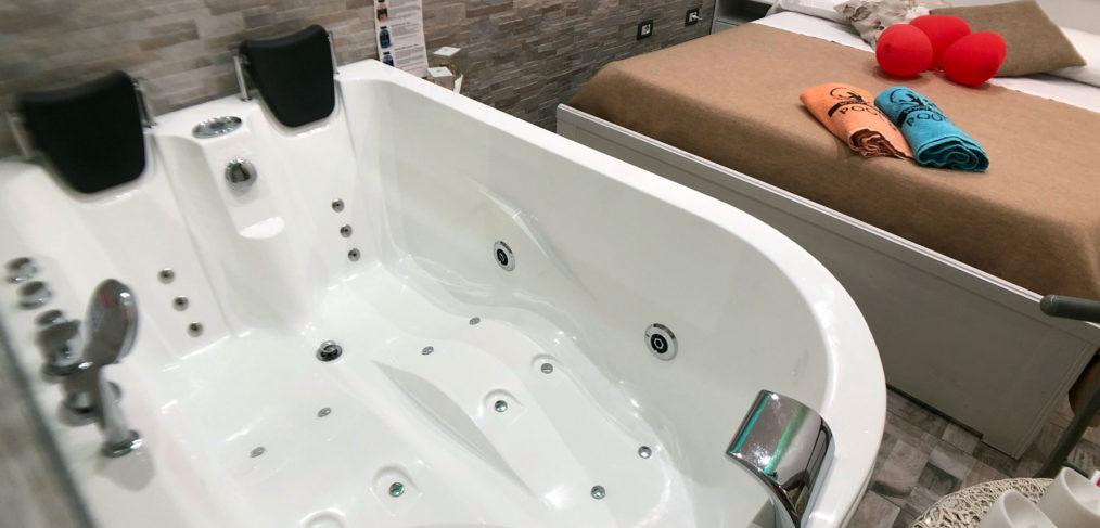 Pompei camera vasca idromassaggio jacuzzi