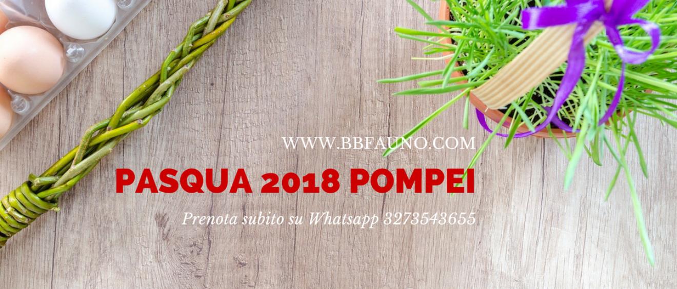 Pasqua 2018 Pompei