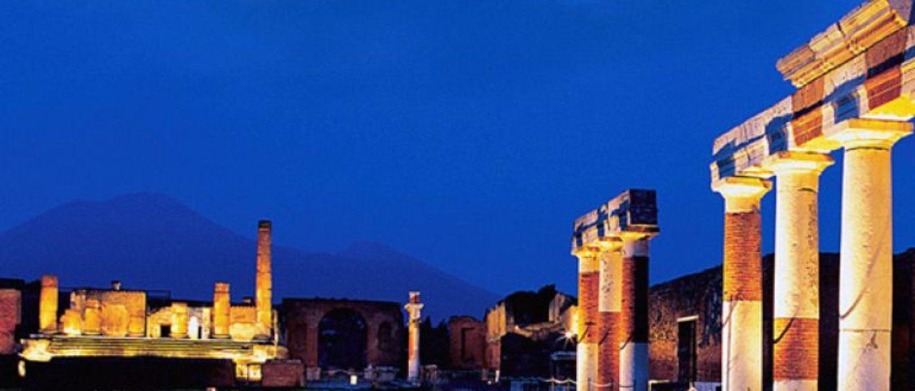 Pompei visite notturne