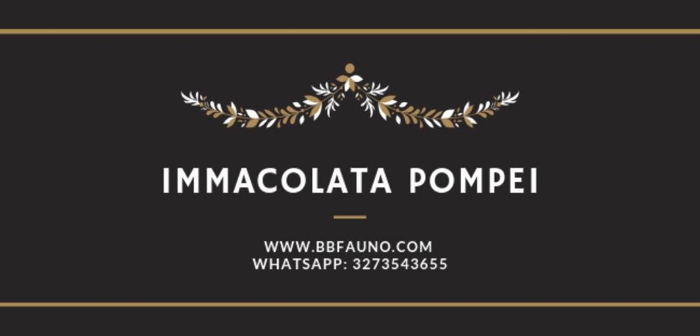 Offerta Ponte Immacolata Pompei