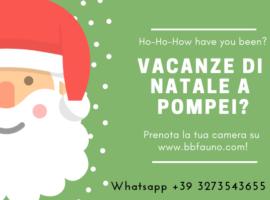 Vacanze Natale Pompei
