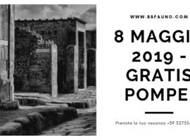 8 Maggio 2019 ingresso gratuito Pompei