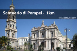 Santuario di Pompei - 1 km