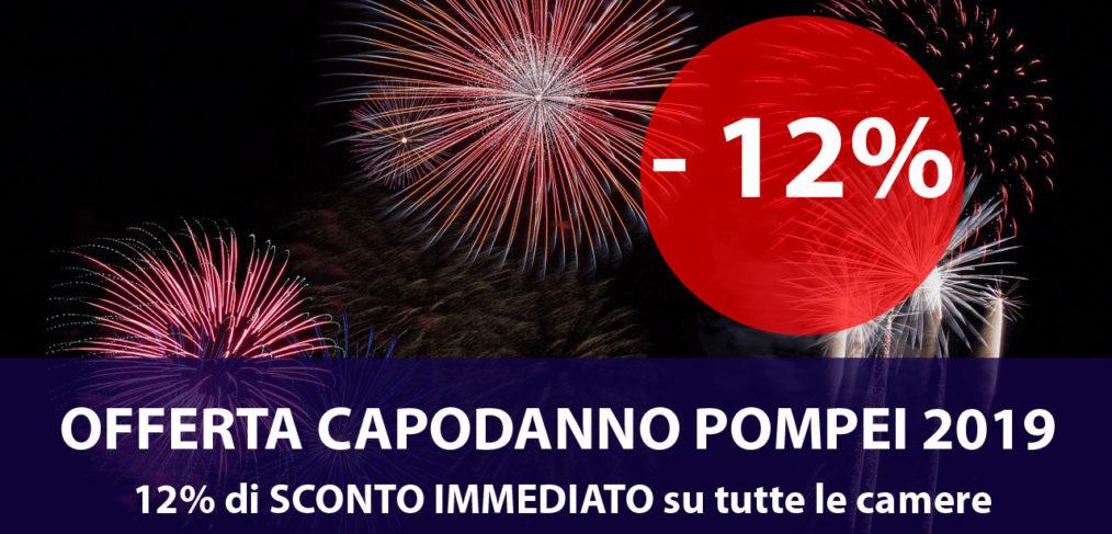 Offerta Capodanno Pompei 2019