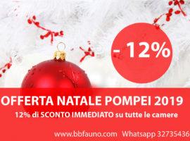 Vacanze di Natale Pompei 2019