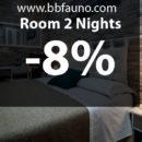 ROOM 2 Nights -8%