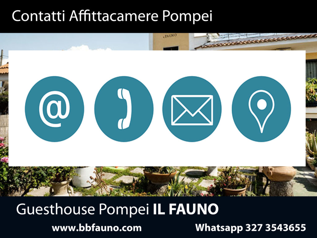 Contatti Affittacamere Pompei