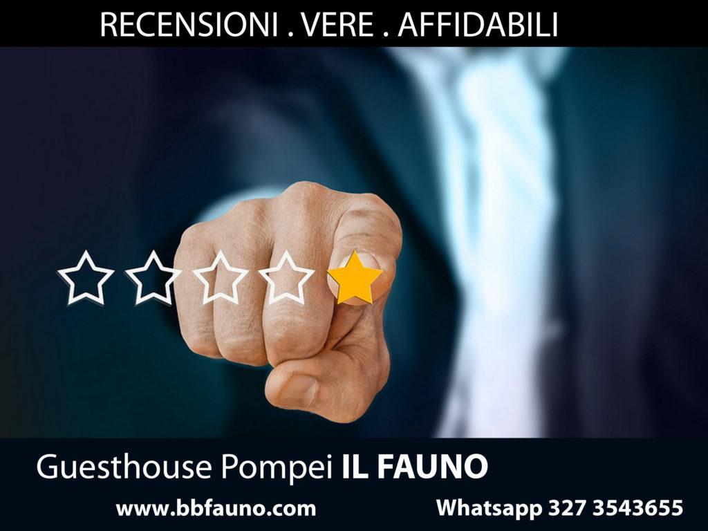 Recensioni Guesthouse Pompei Fauno
