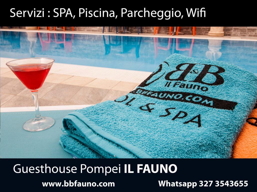 Servizi Hotel Pompei Fauno