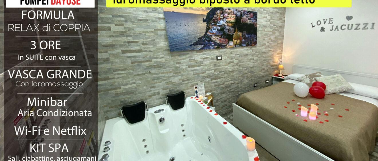Suite con vasca idromassaggio Dayuse 3 ore