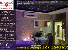 Dayuse Suite con SPA privata 110 euro