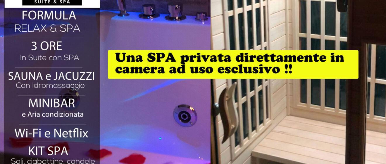 Dayuse Suite con SPA privata 120 euro